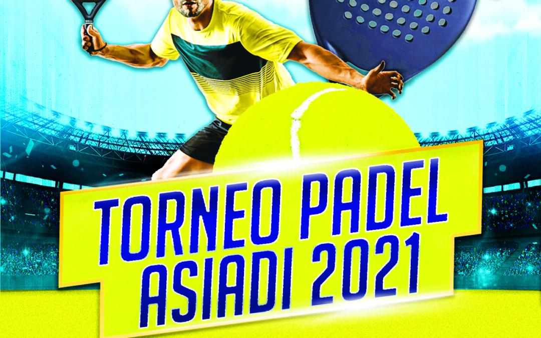 TORNEO PADEL ASIADI 2021