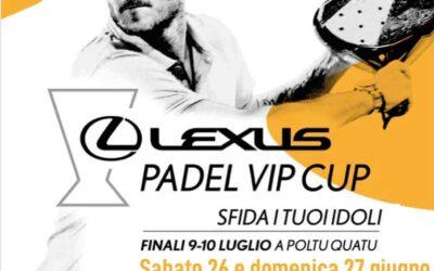 LEXUS PADEL VIP CUP, tappa al PADEL ISLAND